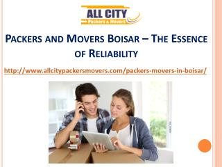 Packers and Movers Boisar – The Essence of Reliability