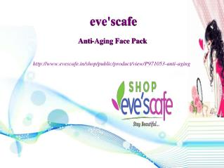 Buy Evescafe Anti-Aging Face Pack