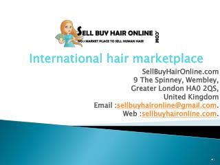 Sellbuyhaironline - Buy and Sell Hair Online
