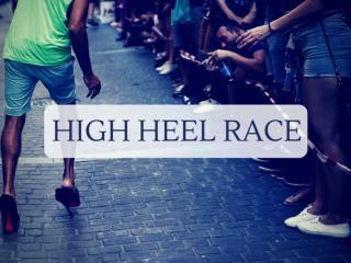 High heel race