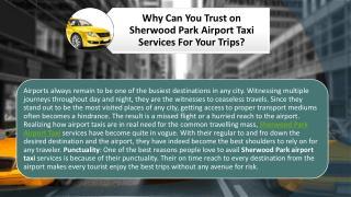 Sherwood Park Airport Taxi
