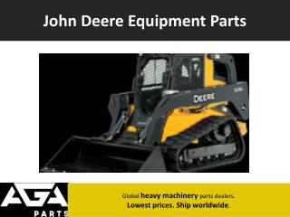 John Deere Dump Truck Parts Dealer – AGA Parts