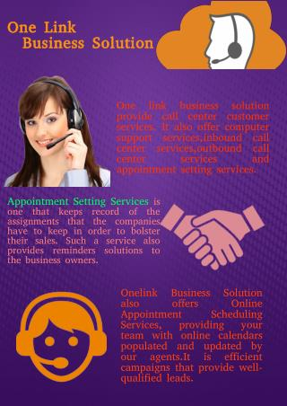 Choose Best Appointment Setting Services Providers