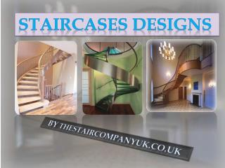 Designer Staircases Manufacturers UK By Thestaircompanyuk.co.uk