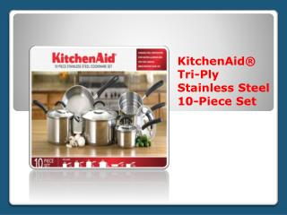 Kitchenaid Stainless Steel Cookware Thailand