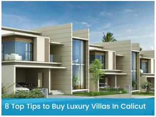 8 Top Tips To Buy Luxury Villas In Calicut