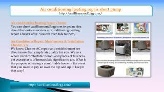 air conditioning heating repair short pump in VA
