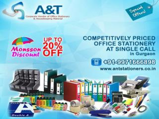 Up to 20% off on Office Stationery in Gurgaon
