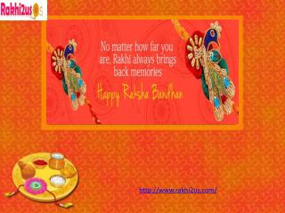 Send online Rakhi to USA at Rakhi2us.com