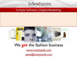 InStyle Software - Best Ecommerce Solution for Fashion Industry
