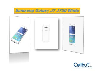 Samsung Galaxy J7 J700 White Dual (Unlocked Quadband) Cell phone