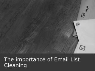 The importance of Email List Cleaning