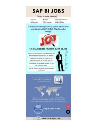 Read 3 Tips for SAP BI Consultants