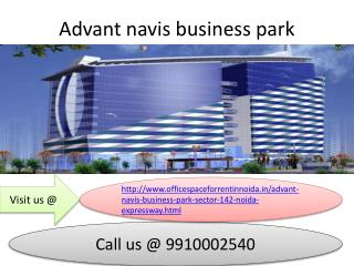 Advant Navis Business Park 9910002540 Office Space for Rent in Noida