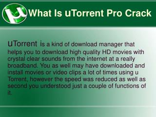 utorrent Pto Crack Free Download With Serial Number