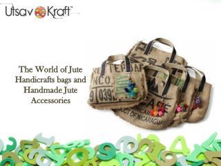 Utsav Kraft Premium Jute Handicrafts and Jute Acessories