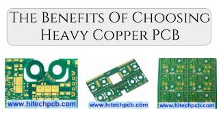 The Benefits Of Choosing Heavy Copper PCB