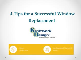 4 Tips for a Successful Window Replacement