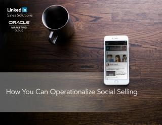 How you can Operationalize Social Selling