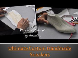 Stunning Custom Handmade Sneakers