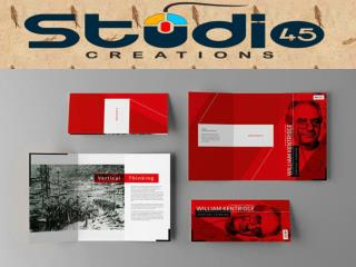business brochure designer - Studio45creations