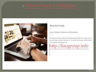 Website Development company in Philippines