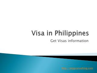 Get Visa Policy Information in Philippines