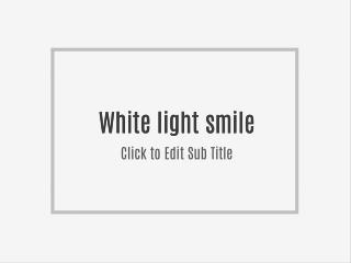 Princeton Nutrients White Light Smile Supplement Review
