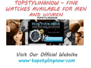 TopStylingNow Watches