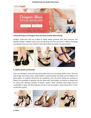 Theshoetrends - Theshoetrends.com (The Shoe Trends) Best Quality Shoes