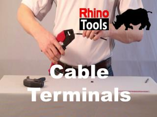 Rhino Tools Online Cable Terminals