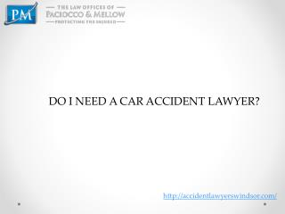 Accident Lawyers Windsor