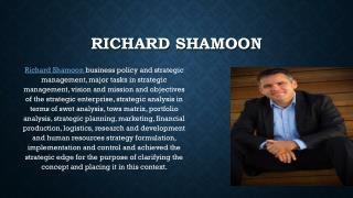 Richard Shamoon