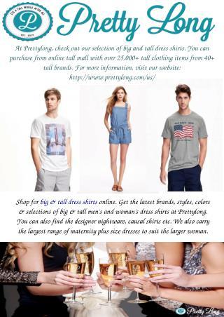 Big and Tall Dress Shirts
