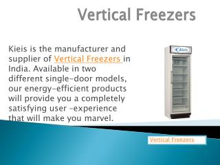 Kieis Vertical Freezers in ludhiana punjab india
