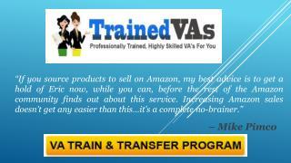 TrainedVAs – Our VA Training Program