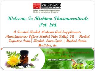 Herbal Medicines manufacturers