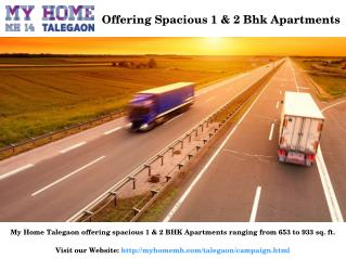 1 and 2 BHK Residential Projects in Talegaon Dabhade Pune for Sale