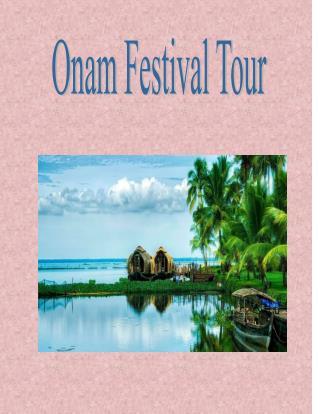Onam Festival 2016