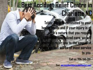 Best Accident Relief Centre | Whiplash Relief Clinic in Charlotte NC