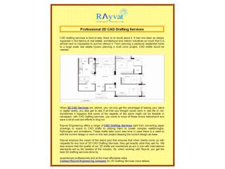 Professional 2D CAD Drafting Services
