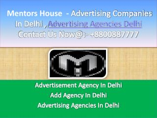 Advertising Companies In Delhi