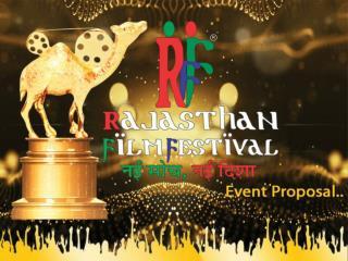 Rajasthan Film Festival Praposal File