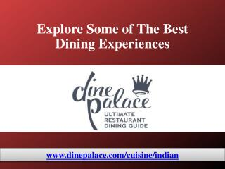 Mississauga's Best Indian Restaurants