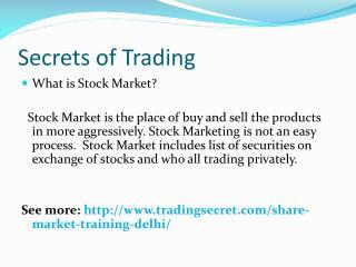 Share Market Training in Mumbai