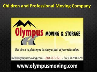 Children and Professional Moving Company