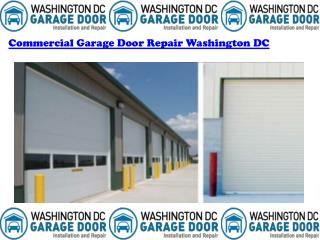 Commercial Garage Door Installation Washington DC