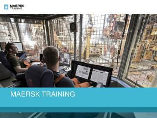 Maersk Training India