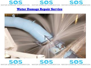 Water Damage Repair Service