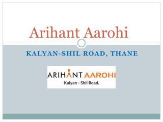 Arihant Aarohi – 1-2 bhk Flats in Mumbai – Investors Clinic